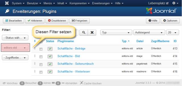Editor-Buttons-Plugin-Filter