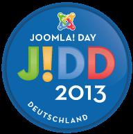 Logo Joomla Day 2013 Deutschland
