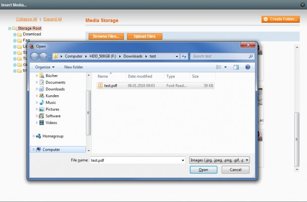 PDF_Upload_WYSIWYG_Editor