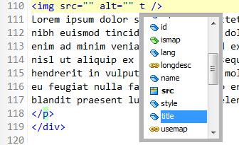 Rapid PHP Editor 2014 - Auto-Vervollständigen