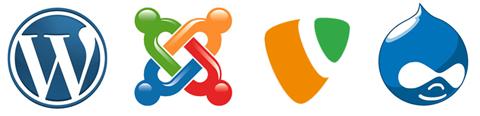 CMS Vergleich: WordPress, Joomla!, TYPO3, Drupal